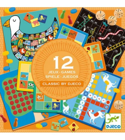 JUEGOS CLASICOS 12 JUEGOS...