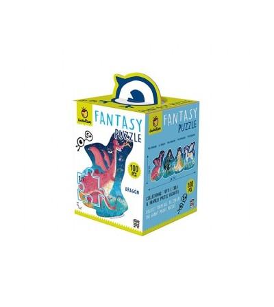 Fantasy puzzle dragón 100pcs