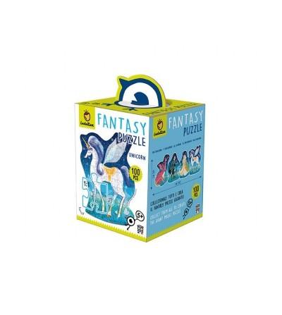 Fantasy puzzle unicornio...